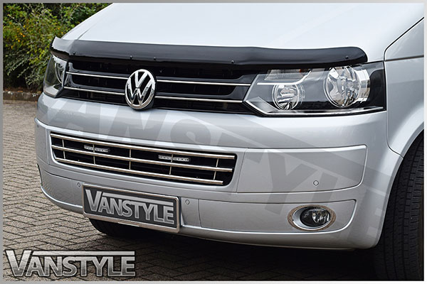Vanstyle Stainless Steel Lower Bumper Grille VW T5 2010-15