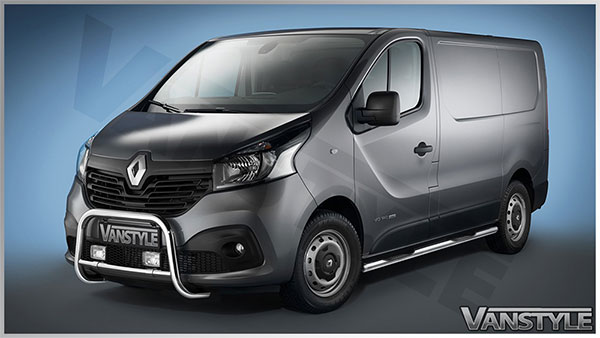 Renault Trafic 2014 On Eu Approved Front A Bar Bull Bar Nudge Bar