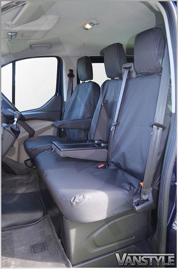 100 Waterproof Tailored Seat Covers Transit Mk8 14