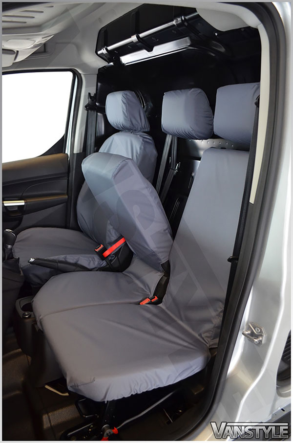 100 Waterproof Tailored Seat Covers Transit Connect 14