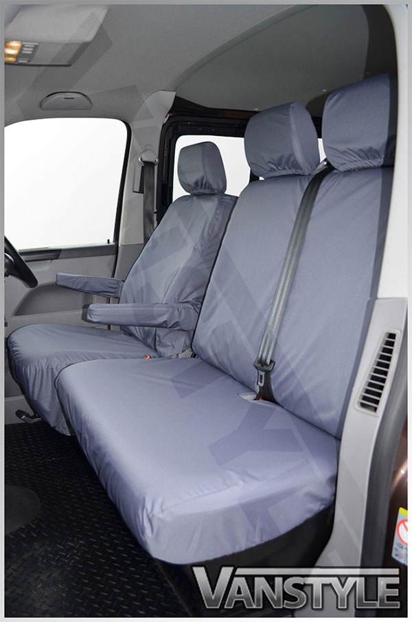 100 Waterproof Tailored Seat Covers T5 T6 10 15 SingleTwin