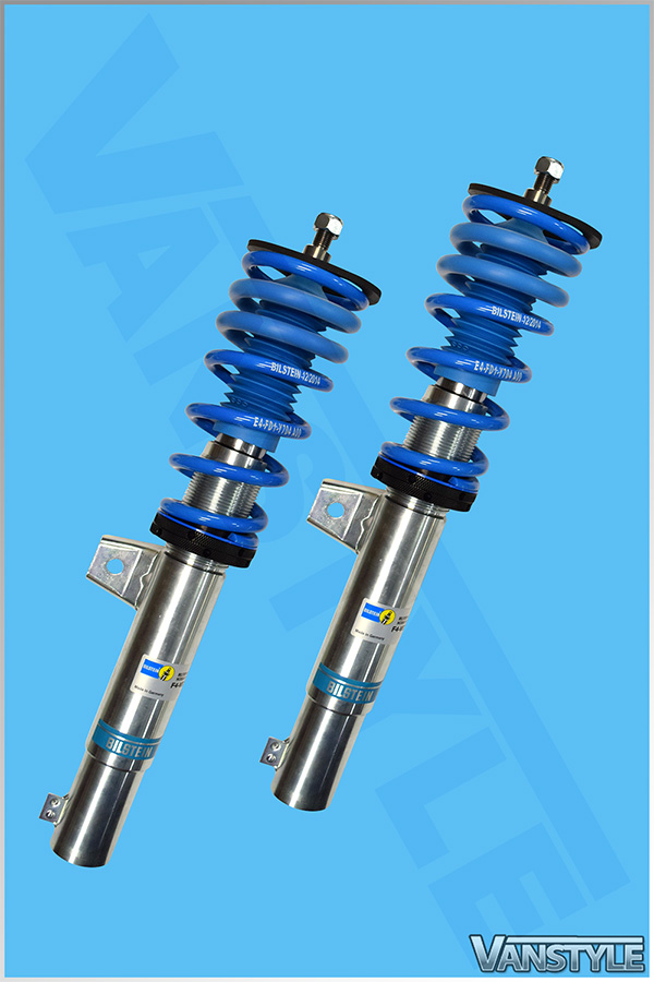 vw caddy mk3 4 bilstein b14 height adjustable coilovers vanstyle. Black Bedroom Furniture Sets. Home Design Ideas