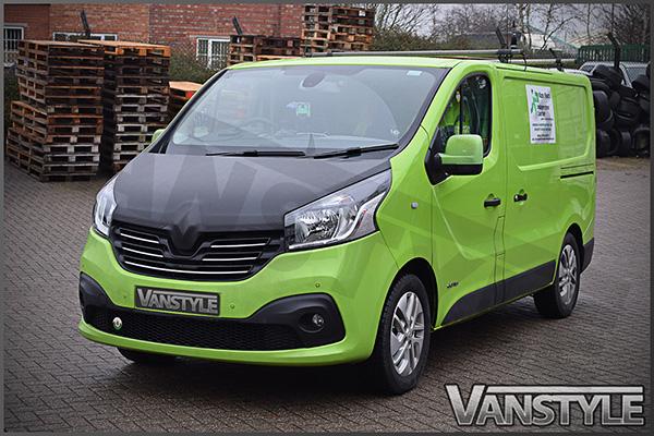 Renault Trafic 2014 Full Length Plain Bonnet Bra