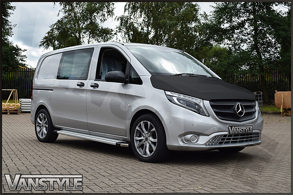mercedes vito v klasse w447 2014 plain bonnet bra vanstyle. Black Bedroom Furniture Sets. Home Design Ideas