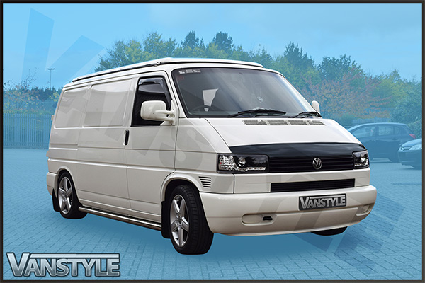 vw t4 90 03 short nose bonnet wind deflector vanstyle. Black Bedroom Furniture Sets. Home Design Ideas