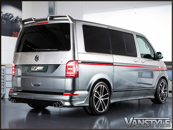 Abt Rear Upper Wing Spoiler Vw T6 Tailgate 15 Vanstyle