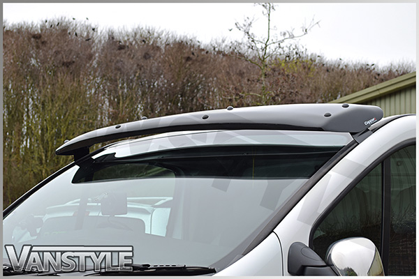 Images show the sunvisor fitted to a Vauxhall Vivaro for illustration  purposes only. 4a5a52a311c