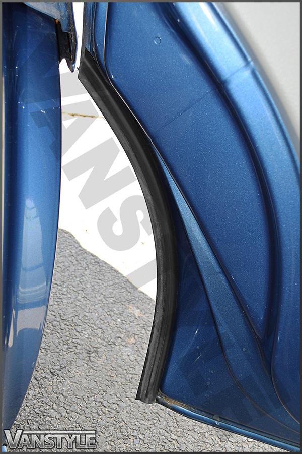 Genuine Vw T5 T6 Front Pair Door Rubber Gasket Seal Trims