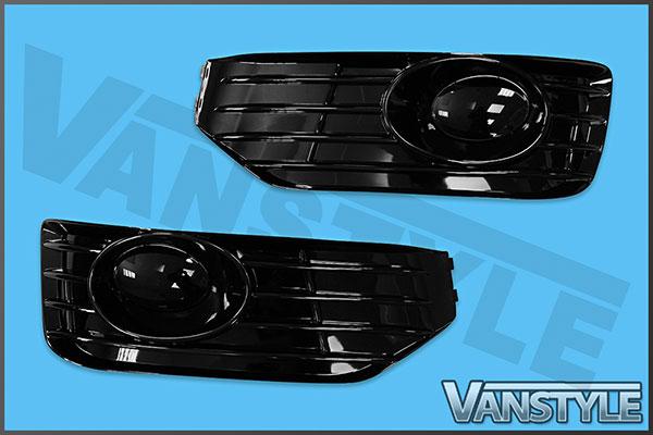 VW T5 10-15 Sportline Style Front Fog Pods (Pair)