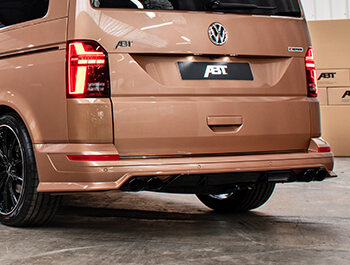 ABT Rear Skirt + Dummy Exhaust Tips VW T6.1 2019>