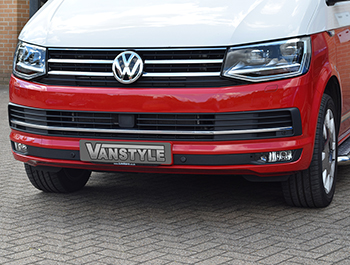 Polished Chrome Genuine New Vw T6 Transporter Front grille trim
