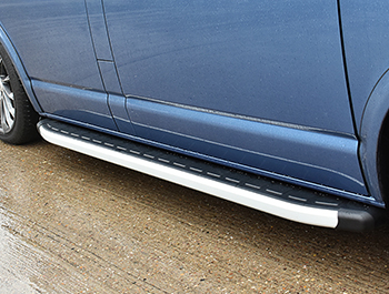 Clumber Style Aluminium Side Steps - Mercedes Sprinter LWB 00>06