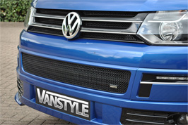 Vanstyle Sport Stainless Steel Lower Mesh Grille VW T5 2010>