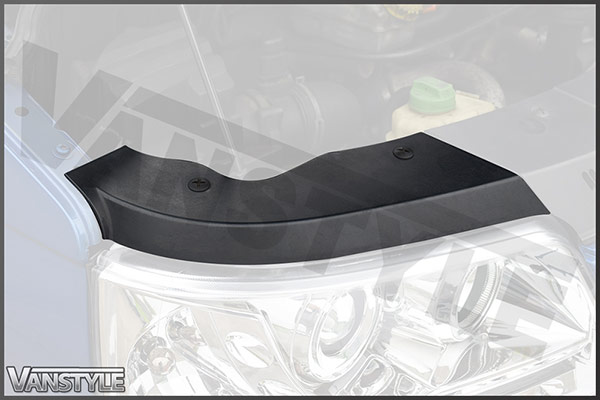 Genuine VW Headlight Trim Cover + Clips for T5 2003 - 09