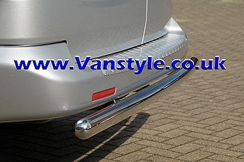 Profiled Rear Protection Bar VW T5 / T6 Transporter/Caravelle