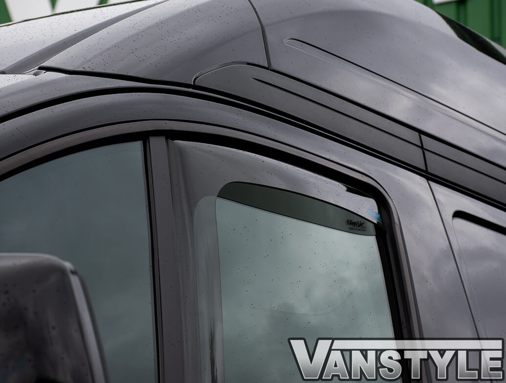 Ford Transit Custom 2012-18> Climair Front Side Wind Deflectors