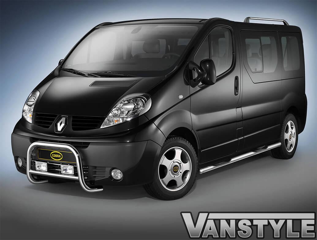 Cobra 60MM A-Bar EU Approved - Vivaro-Trafic-Primastar 01-11
