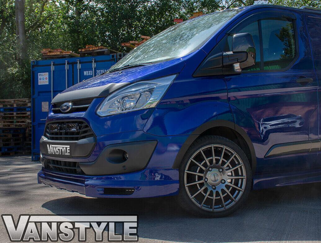 VS Sport Front Splitter Ford Transit Custom 2012-2018