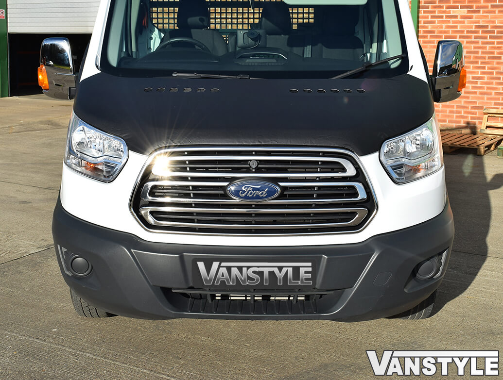 Ford Transit MK8 Stainless Steel Grille Surround 2014-2019