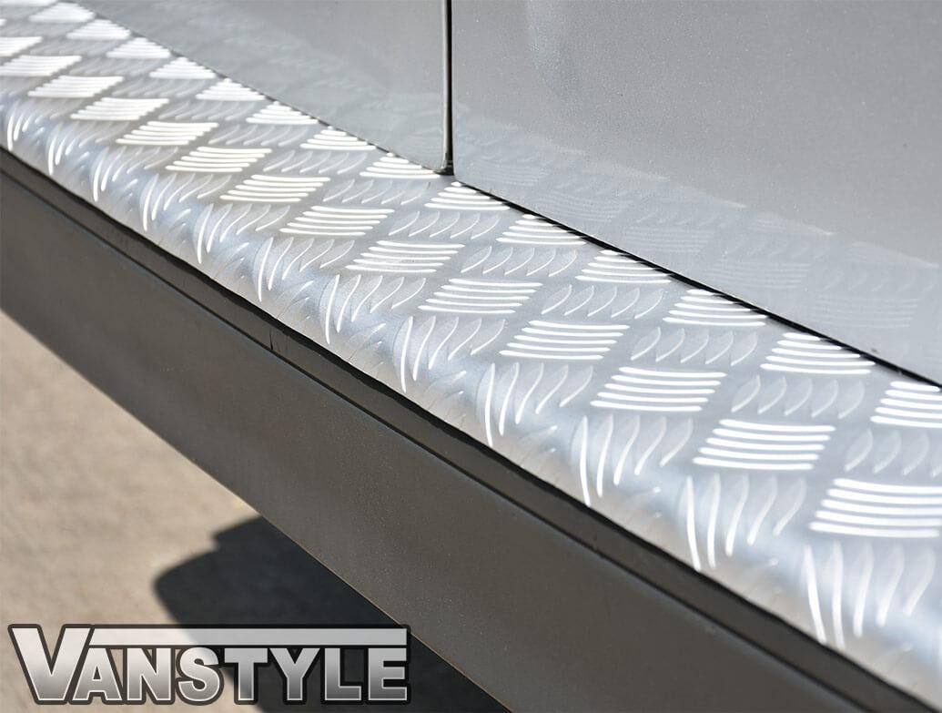 3D Aluminium Rear Bumper Protector - Mercedes Vito W639 03-14