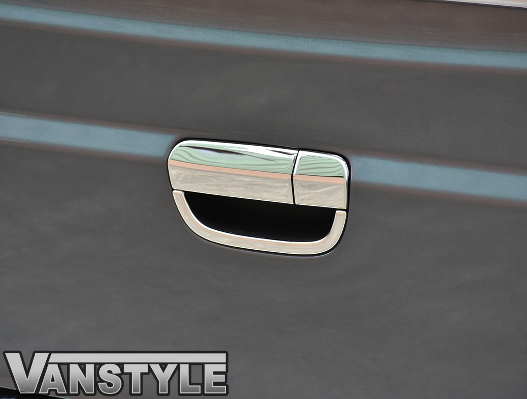 Tailgate Door Handle Cover Stainless Steel Mercedes Vito 03>14