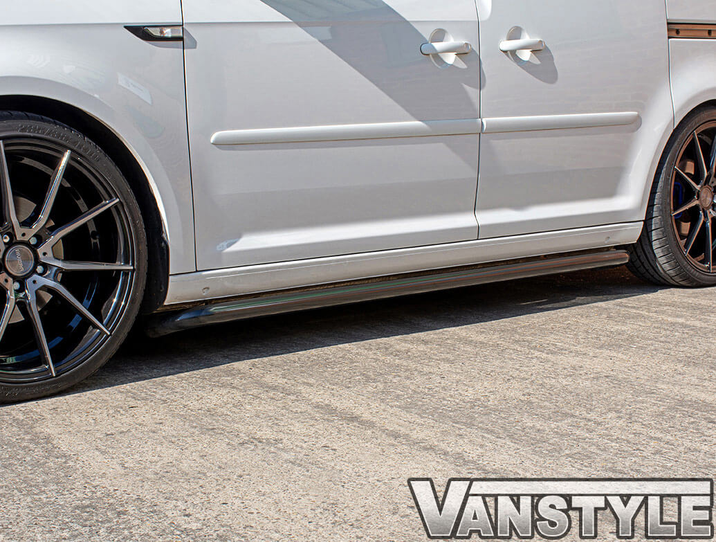 Vanstyle Sport 50mm Satin Black Sidebars VW Caddy SWB 04>21