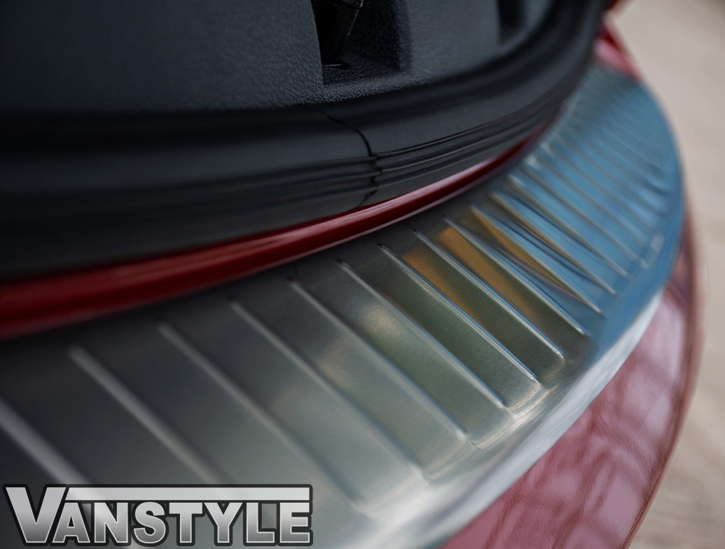 VW Caddy & Maxi 2015> Stainless Steel Rear Bumper Protector