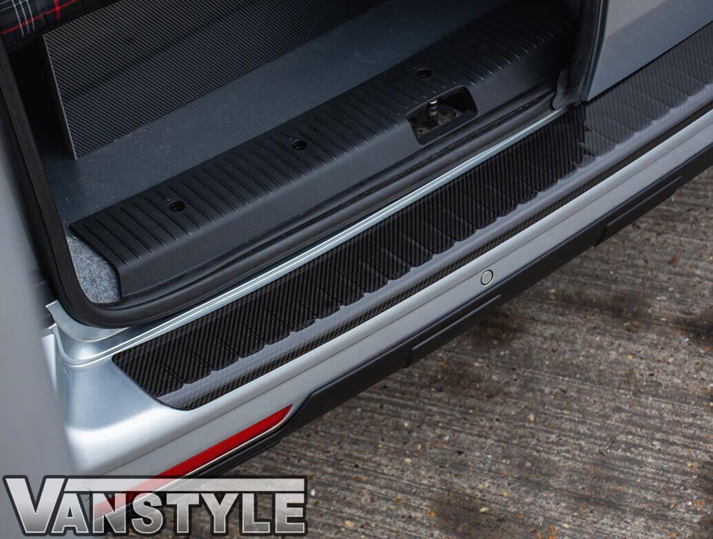 VW T5 03-15 Real Carbon Fibre Bumper Protector
