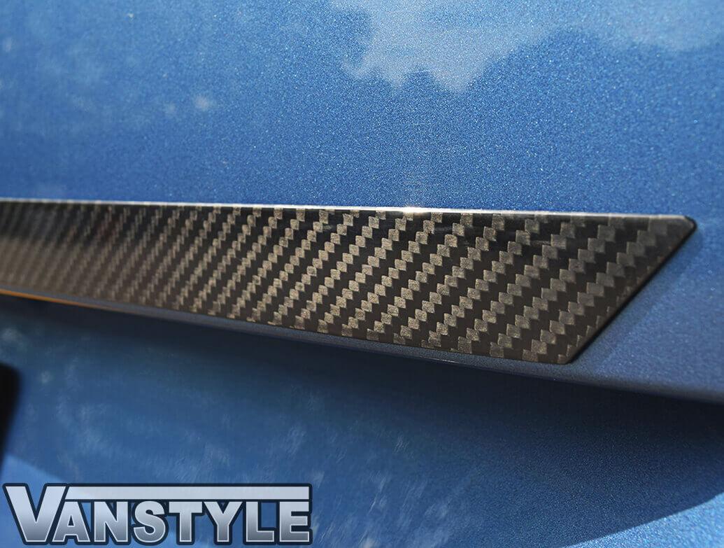 Carbon Fibre Above The Number Plate Trim - VW T6 T6.1 2015>