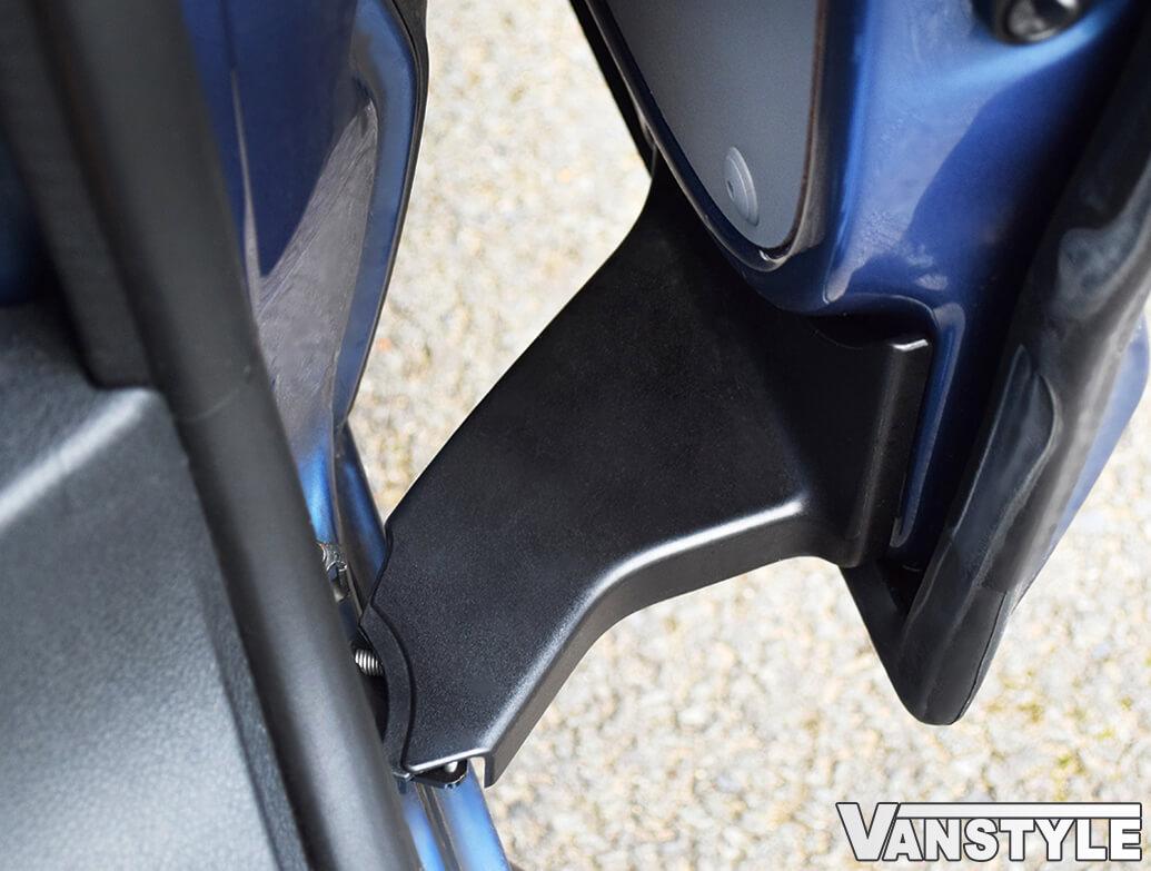 Genuine OE VW T5 T6 Bottom Roller Hinge ABS Trim Covers
