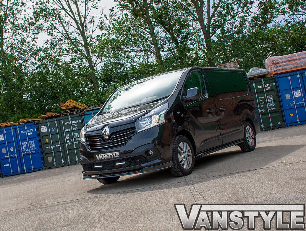 Vanstyle 60mm Black Sportline Sidebars Vivaro/Trafic/Primastar