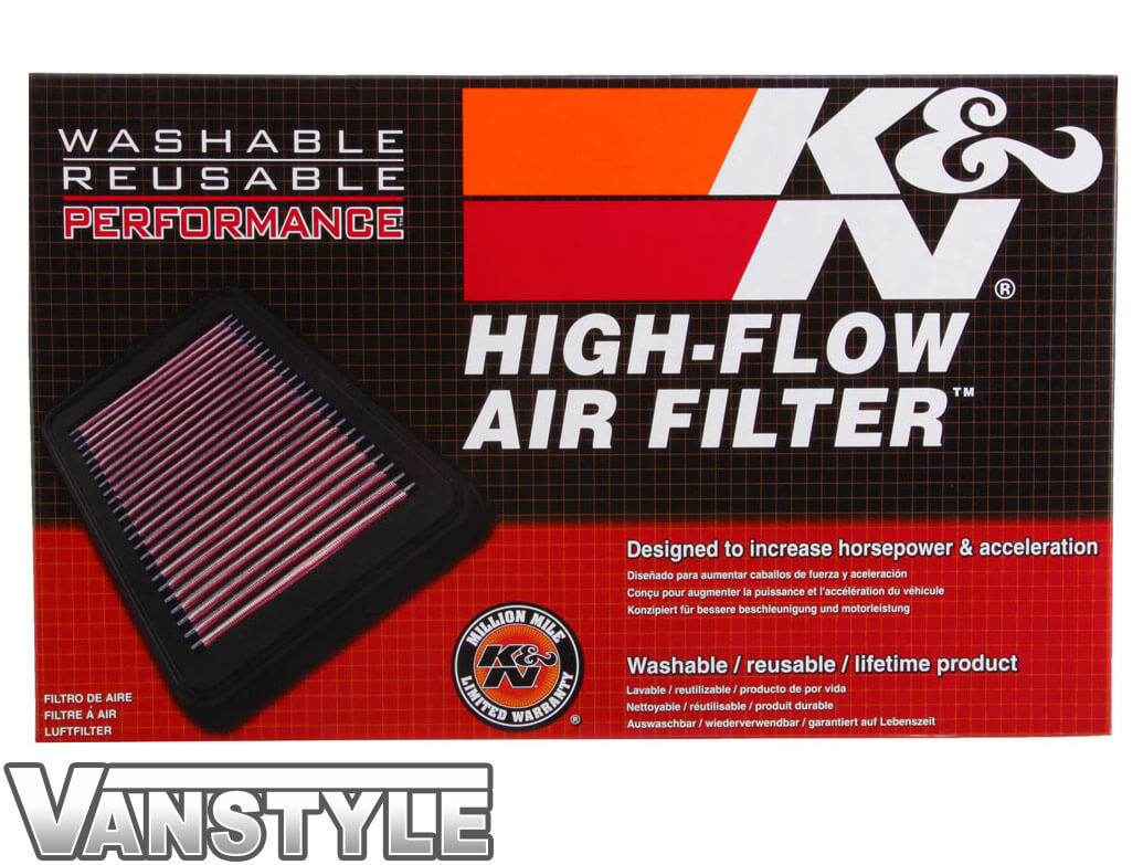 K&N Replacement Air Filter - Mercedes Vito Viano 2003-2015
