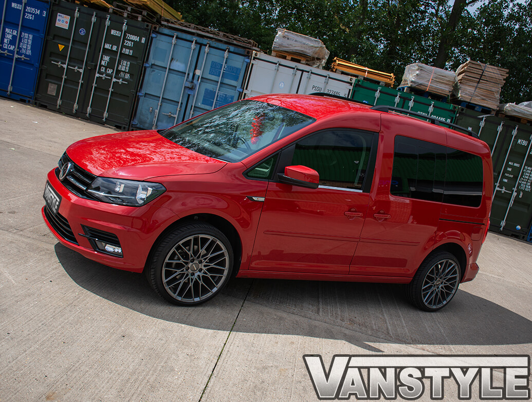 Polished Stainless Steel Window Trims - VW Caddy 2015>21