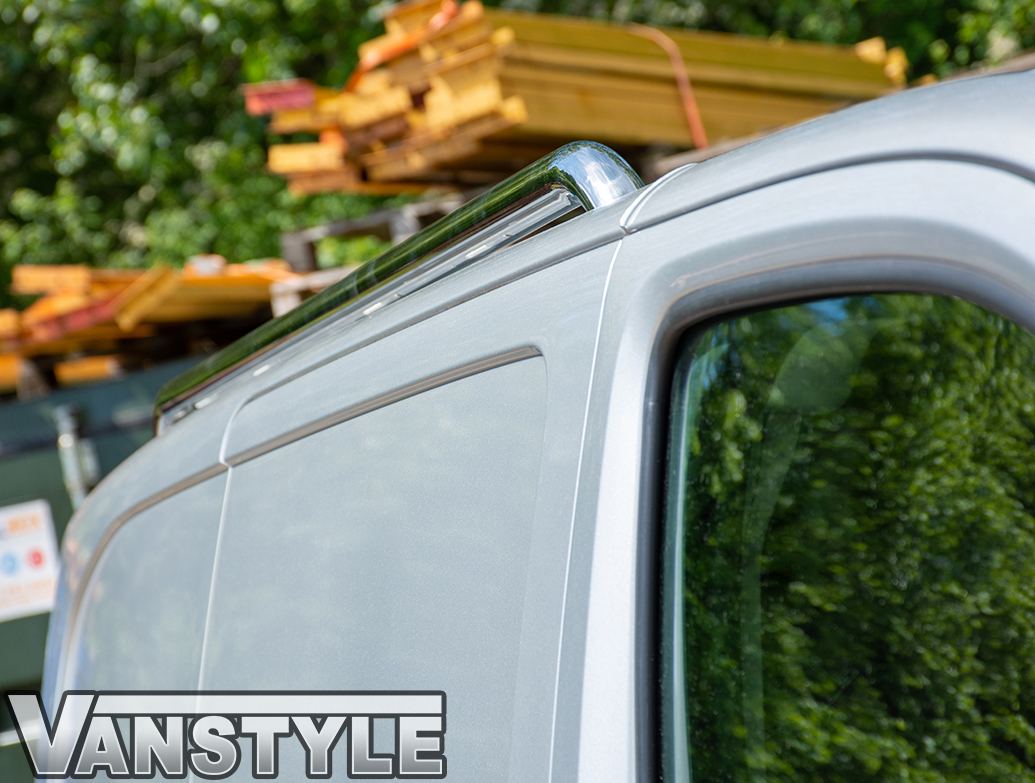 Stainless Steel Roof Bars - Vauxhall Vivaro 2019>