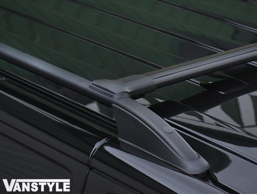 Black Aluminium Cross Bar Set - Dispatch/Expert/Proace 16>
