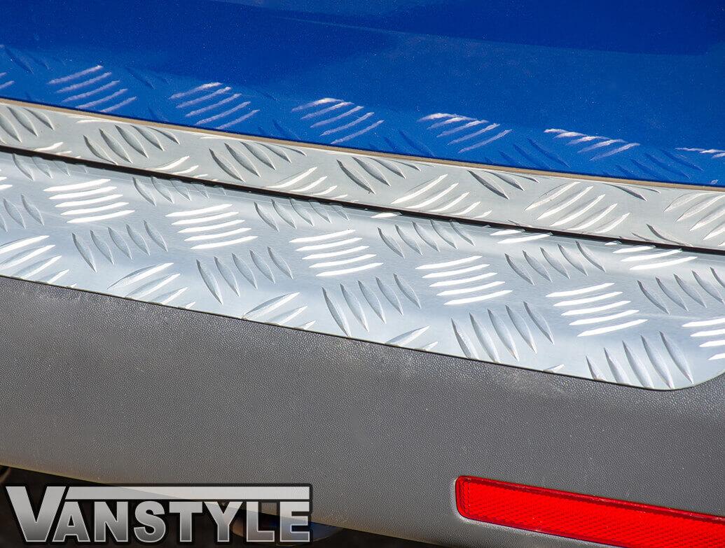 3D Aluminium Rear Bumper Protector - VW T5/T6 03>15 & 15>