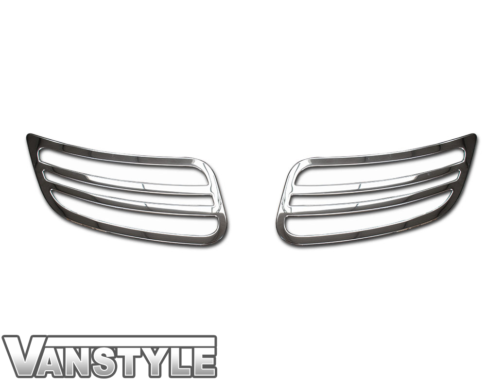 2-Piece Hood Grille Vent Trim Covers - MB Sprinter 2018>