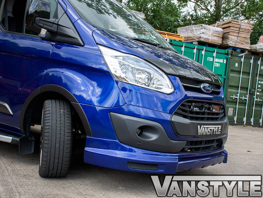 Ridged Bonnet Protector ABS Carbon Fibre Effect- Custom 2012-17