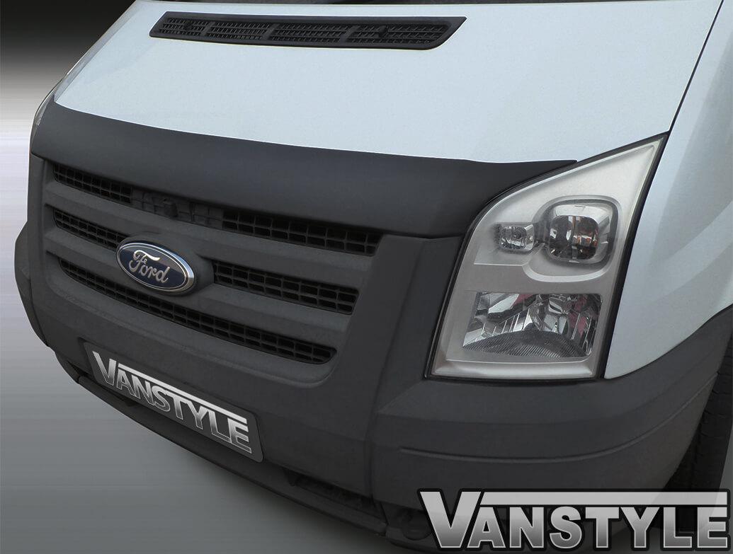 Black ABS bonnet protector - Ford Transit MK7 2007-2013