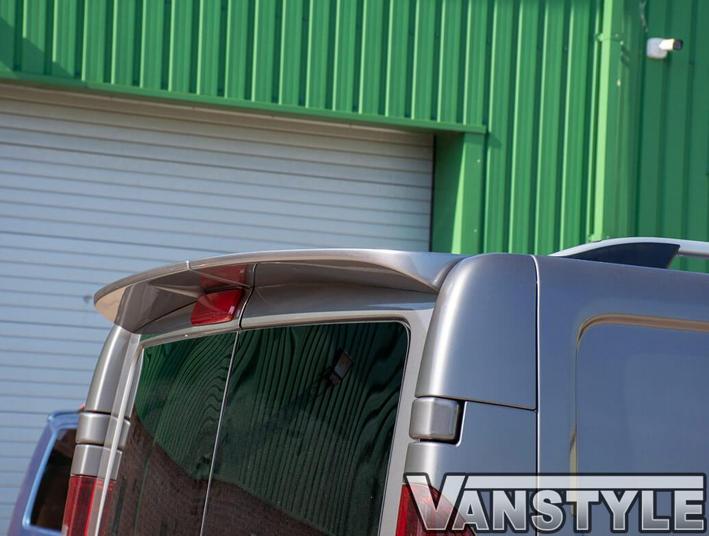 PU Rear Twin Door Spoiler Primastar Vivaro Trafic Talento NV300