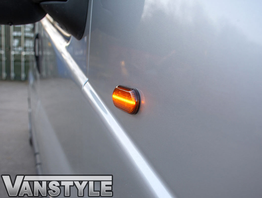 LED Sequential Side Repeaters - Smoked - Vivaro/Trafic/Primastar