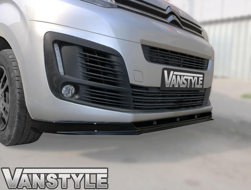 ABS Gloss Black Front Lower Splitter – Dispatch-Expert-Vivaro