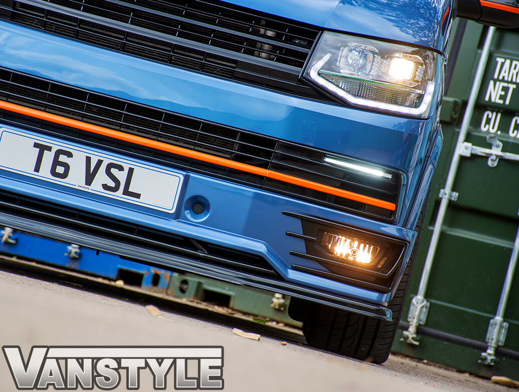Smoked Front Fog Lights - VW T6 2015-19