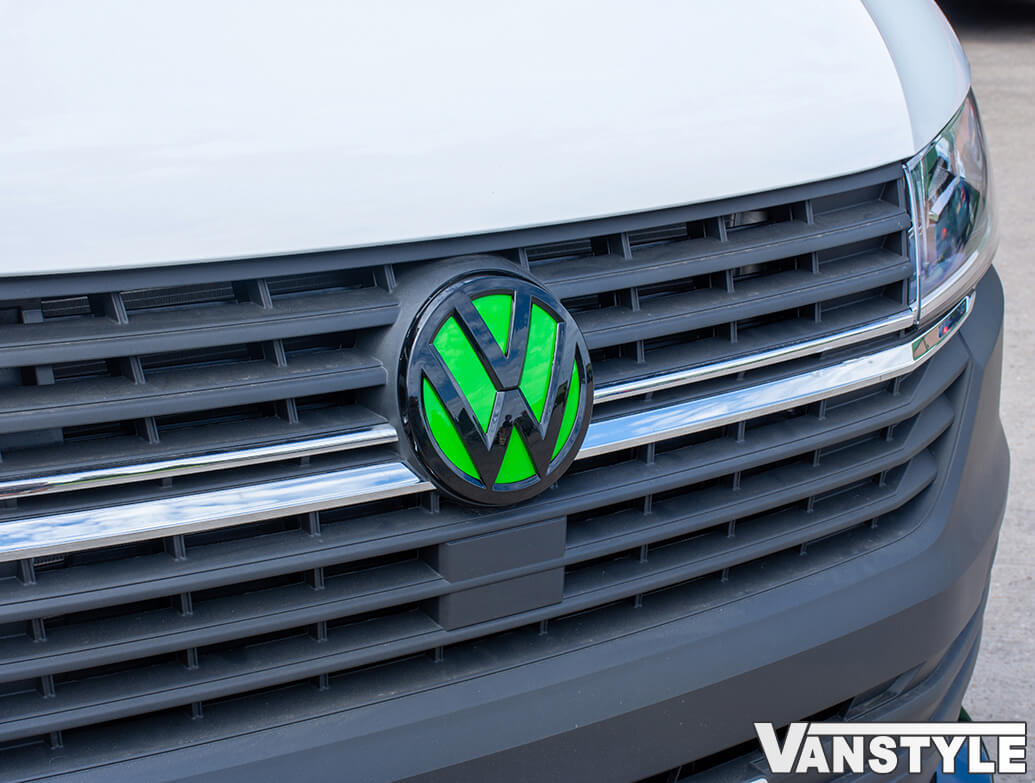 VW T6 T6.1 Badge Back Plates - Red, Green, Yellow, Orange