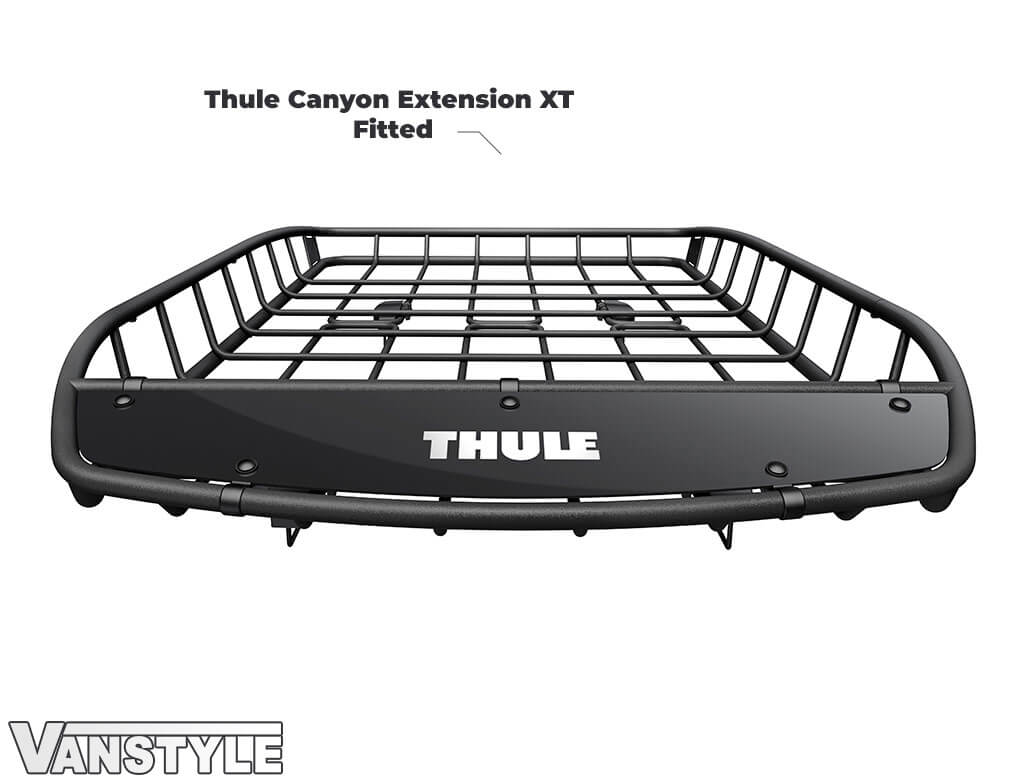 Thule Canyon Extension XT - Black Robust Roof Basket