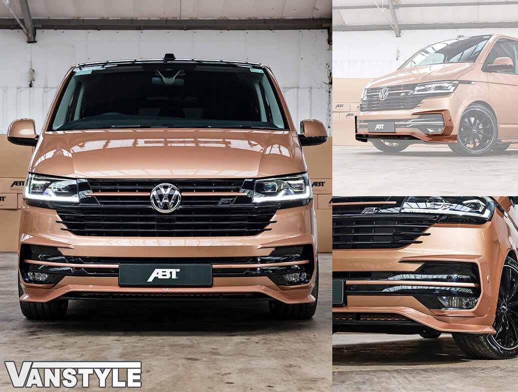 ABT Lower Front Lip Spoiler VW T6.1 2019>