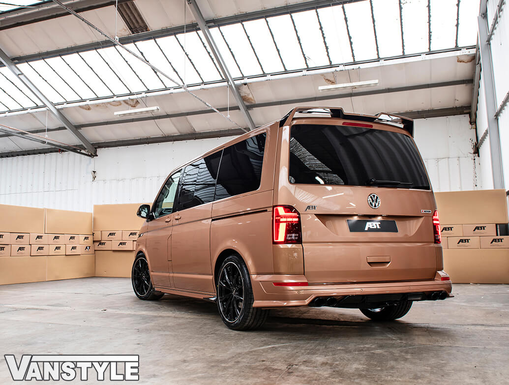 ABT Rear Skirt + Dummy Exhaust Tips VW T6.1 2019>