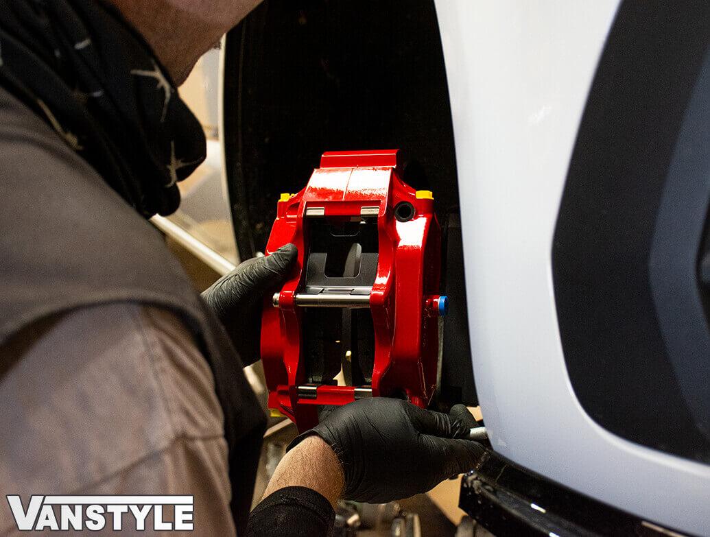 V-Maxx 330MM 4-Piston Forged Caliper Big Brake Kit - VW T5/T6