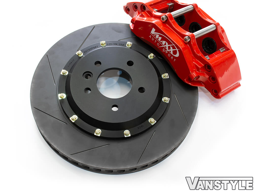 V-Maxx 355MM 6-Piston Forged Caliper Big Brake Kit - VW T5/T6