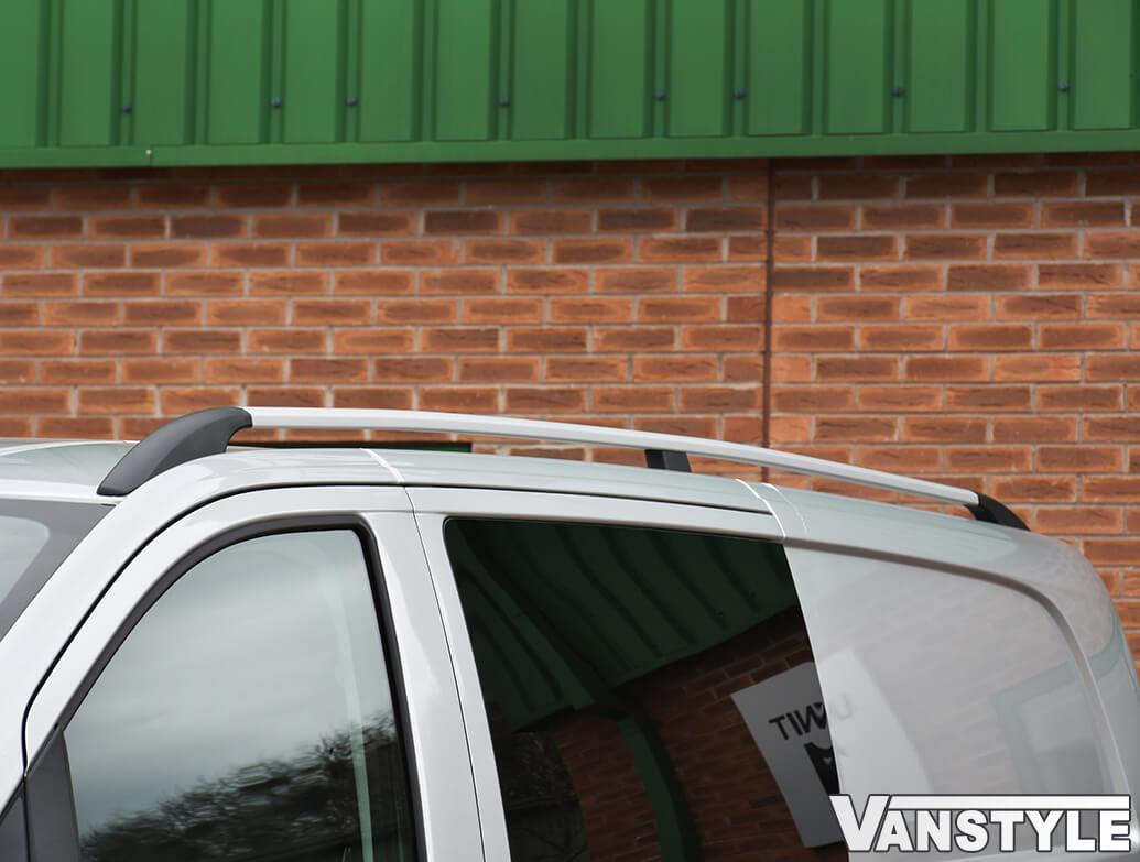 Aluminium Silver Roof + Cross Bar Set Mercedes Vito 03-14>
